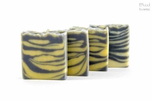 صابون ذغال و لیمو لایه بردار و ضد جوش