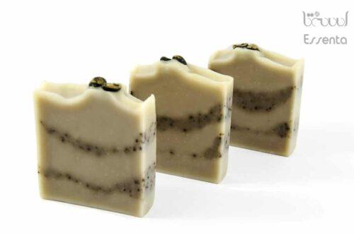 صابون طبیعی اسکراب قهوه سبز لایه بردار و مرطوب کننده