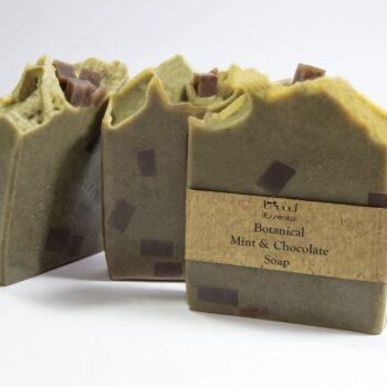 صابون نعناع و شکلات آبرسان و ضد جوش