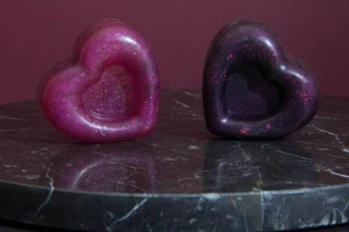 صابون قلب مخصوص ولنتاین